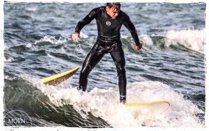 Wellenreiten in Kühlungsborn- Surfkurs Surfschule Ostsee