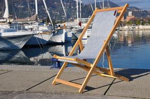 Sail Chairs sedie in tessuto vela