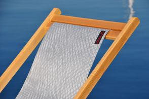 Sedie in tessuto da vela di legno Velman