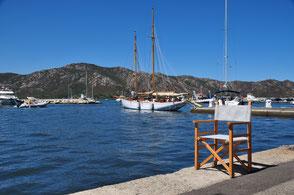 Sedie in tessuto da vela di legno Velman Sails