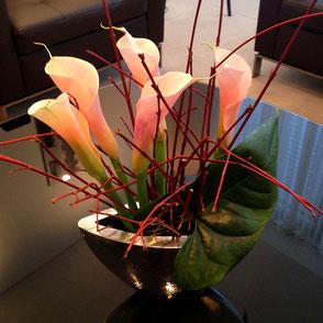 Wöchentliche, Blumenlieferung, Empfangsblumen, Blumen am Empfang CI Blumen