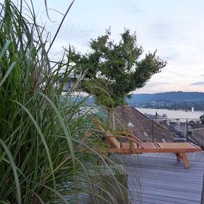 Terassengestaltung, Terassengestaltung Zürich, Terrassenkonzepte, Farbenkonzepte, Beleuchtungskonzepte