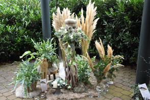 Liebevolle Trauerfloristik von der Blumenscheune Utphe