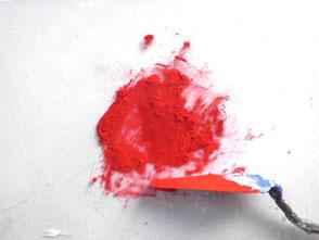 schlecht benetzbares Pigment mit Netzmittel anreiben