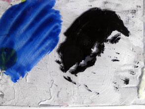 Glasscheibentest, Acrylfarbe