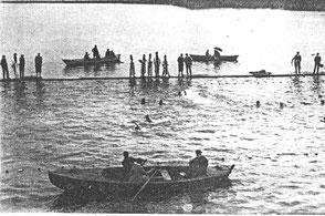Schwimmwettkampf 1921 - Aeschacher Ufer