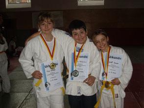 Unsere drei Gewinner