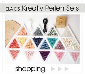 Im Shop Kreativ Perlen Set Bastel Kit ELA EIS Düsseldorf