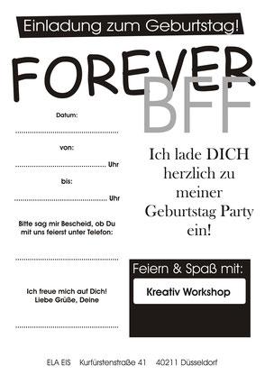Teenagergeburtstag Düsseldorf Schmuck Workshop