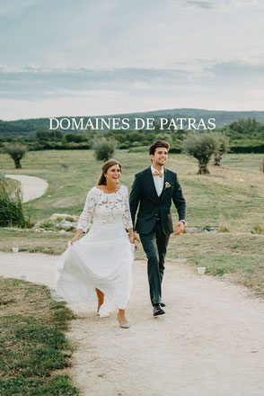 wedding photography at les domaines de patras