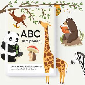 ABC Kartenset - Tieralphabet