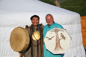Werny Ulrich, Reise in die Mongolei zu einem Nomaden Schamanen