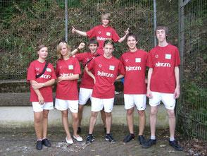 2.Jugendmannschaft v.l.: ... Franziska Backhaus ......