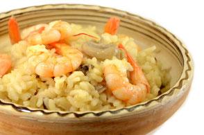 cuisine au safran - idées recette : risotto aux crevettes et safran