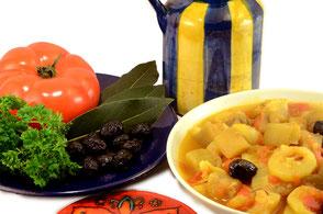 cuisine au safran - idées recette : safratouille de Manex