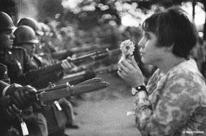 1967, Marche pour la paix au Viet-Nam