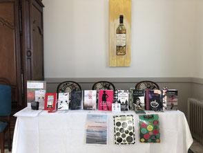book tour; sacha stellie; cedric charbonne; chateau guiteronde; sauternes; barsac; nouveaux auteurs; auteurs bordeaux; litterature gironde; auteurs aquitaine