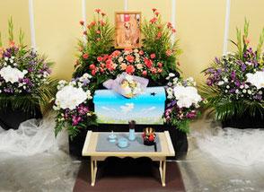 花祭壇|愛犬・愛猫・ペット火葬「はなの園」引取り・代行・葬儀・供養、埼玉県越谷市