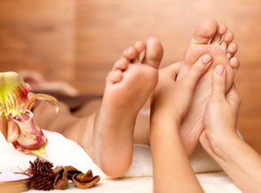 Fußmassage Wellness Entspannung Winterberg Sauerland