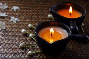 Kerzenmassage Dietrich Sauerland Entspannung Wellness
