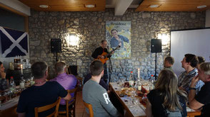 """Auch die """"Whisky & Music""""-Tastings mit Robin Laing waren gut besucht."""