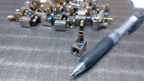 ステンレス配管部品の写真