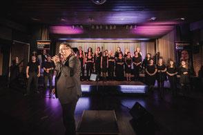 Hanjo Krämer und der UGC beim Auftaktkonzert 21.09.2018