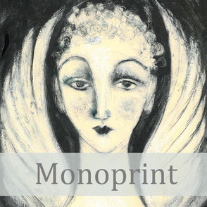 monoprint printmaking process