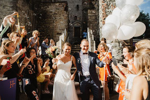trouw gravensteen ballonnen huwelijksfotograaf Gent