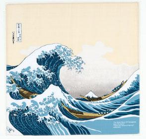 furoshiki ukiyoe hokusai