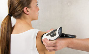 Stosswellen-Therapie an der Schulter