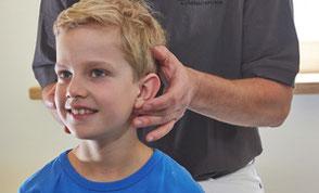 Atlastherapie-Behandlung