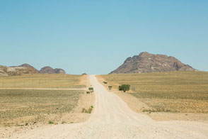 Landschaft am NamibRand, Namibia, Foto: Ria Henning-Lohmann