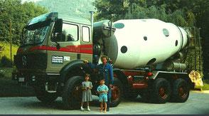 Historie Transportunternehmen Oberauer in Nußdorf
