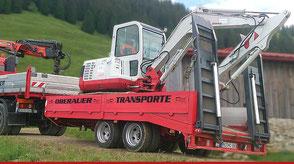 LKW Tieflader 11 to, Oberauer Transporte Nußdorf