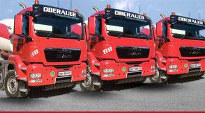Betontransporte, Hans-Peter Oberauer Tirol