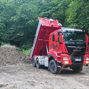 Iseki Kleintraktor, Oberauer Transporte Nußdorf