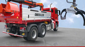 Moderne Fahrzeuge Transportunternehmen Oberauer in Nußdorf