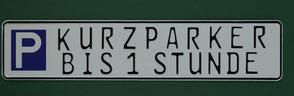 Parkschild Standard  Parkschilder Parkplatz Schild