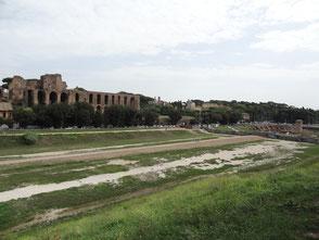 Rom, Circus Maximus mit Ruinen der Kaiserpaläste