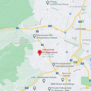 Landkarte Perchtoldsdorf