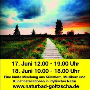 Kunst- & Naturfest im Naturbad Goltzscha