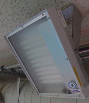 ANDY-LDS プール用LED壁付け写真