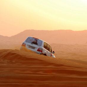 Jeepsafari in der Wüste
