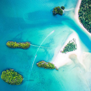 Inseln Provinz Krabi