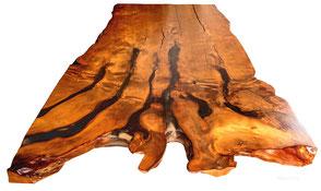 Exklusiver Massivholztisch aus einzigartigem Kauri Wurzelholz, außergewöhnlicher Holztisch kunstvolle Tischplatte, einmaliges Tischunikat Konferenztisch