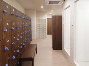 男性専用ロッカールーム&シャワー室 24時間ジム フィットネスクラブ Gサルース