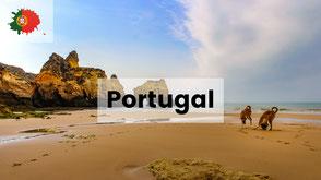 Wohnmobil urlaub mit hund in portugal