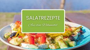 Salate Wohnmobil, Campingrezepte