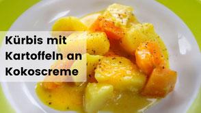 Blutwurst mit Kartoffeln, Camping rezept, Kochen im Wohnmobil